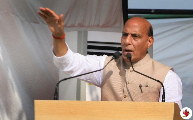 कश्मीर समस्या का समाधान हर हाल में होगा : राजनाथ सिंह