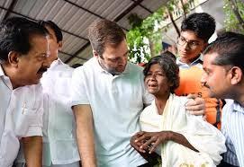राहुल गांधी ने अपने संसदीय क्षेत्र वायनाड के बाढ़ प्रभावित लोगों की प्रशंसा की