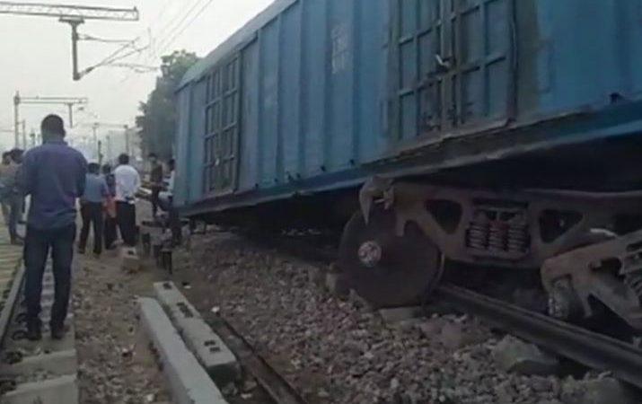 जामताड़ा में मालगाड़ी के 7 डिब्बे पटरी से उतरे, एक दर्जन गाड़ियां प्रभावित