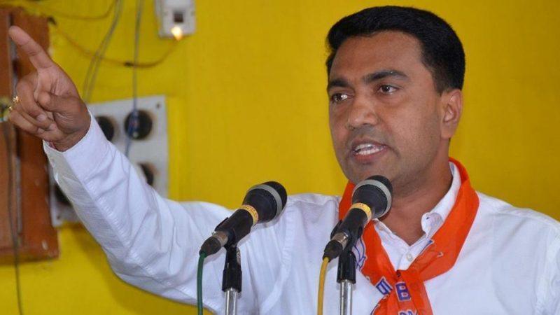 एक विधान, एक निशान, एक प्रधान के नारे को पीएम मोदी के शासनकाल में सफलता मिली: गोवा सीएम