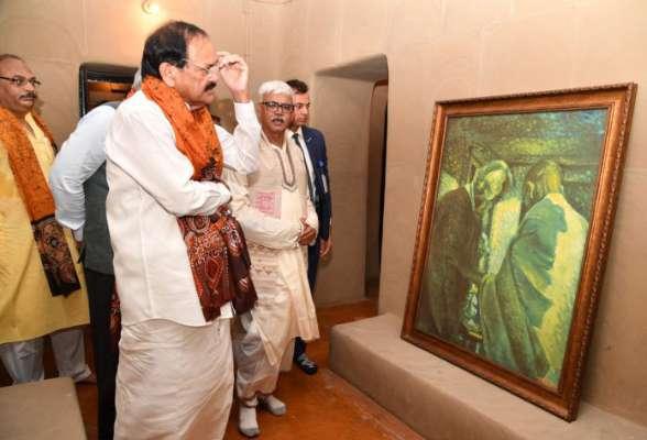 उपराष्ट्रपति ने 'श्यामोली' का पुनः निर्माण के लिए भारतीय पुरातत्व सर्वेक्षण की सराहना की