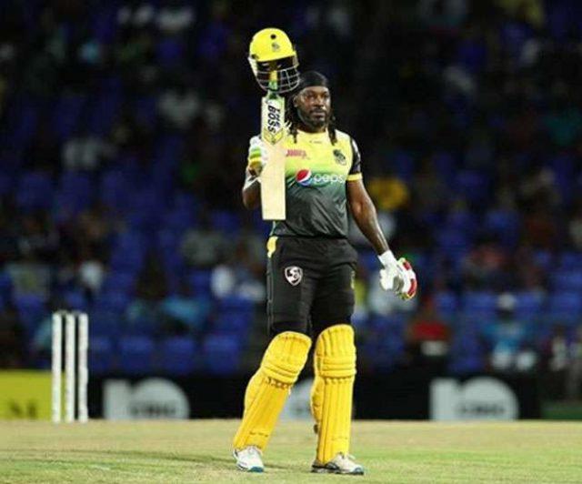 CPL : गेल ने ठोक डाला T20 क्रिकेट में एक और तूफानी शतक