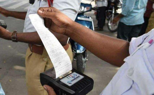 ओडिशा में कटा 86,500 रुपए चालान