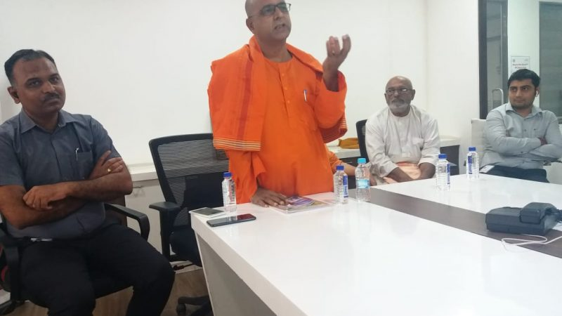 Swami's teachings more relevant today