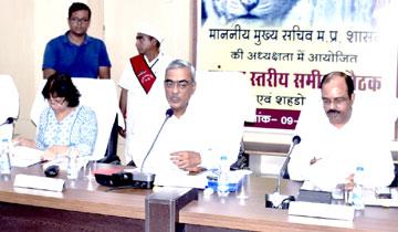 मिलावटखोरों पर सख्ती से कार्यवाही करें : मुख्य सचिव श्री मोहंती
