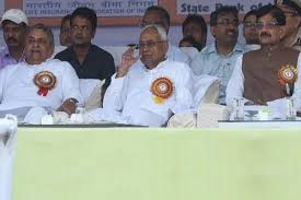 दशहरा उत्सव में CM नीतीश के साथ किसी BJP नेता ने साझा नहीं किया मंच