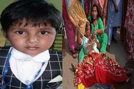 6 वर्षीय मासूम को तेज रफ्तार ट्रक ने कूचला