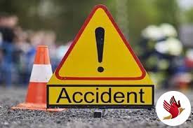 सड़क दुर्घटना में बाइक सवार समेत 2 लोगों की मौत