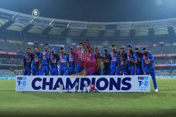 मुंबई T20 : विंडीज को 67 रन से हराकर भारत ने 2-1 से जीती सीरीज