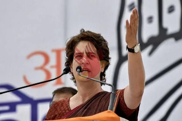 भाजपा के विभाजनकारी मंसूबों के ख़िलाफ कांग्रेस मजबूती से लड़ेगी: प्रियंका गांधी