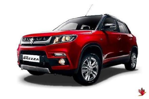 'विटारा ब्रेजा' की बाजार में धूम, देश में सबसे तेज बिकने वाली SUV कार